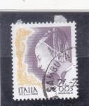 Sellos de Europa - Italia -  la mujer en el arte