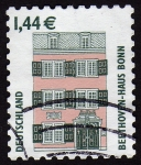 Stamps Germany -  COL-BEETHOVEN-HAUSS (BONN)