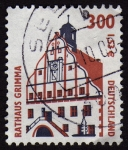 Stamps Germany -  COL-RATHAUS GRIMMA