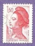 Stamps France -  PERSONAJE
