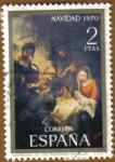 Sellos de Europa - España -  NAVIDAD - Adoracion de los Pastores - Murillo