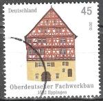 Sellos de Europa - Alemania -  Edificios de madera en Alemania de 1582 Eppingen.