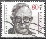 Sellos de Europa - Alemania -  Centenario del nacimiento de Karl Barth (teólogo).