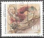 Sellos de Europa - Alemania -  250 aniversario de Cosmas Damian Asam,pintor y arquitecto alemán.