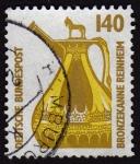 Stamps Germany -  COL-BRONZEKANNE REINHEIM
