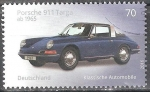 Stamps Germany -  Coches Clásicos,Porche 911 Targa,1965(a).