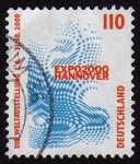 Stamps Germany -  COL-EXPO 2000-HANNOVER