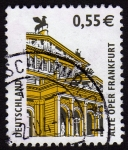 Stamps Germany -  INT-ALTE OPER FRANKFURT