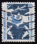 Stamps Germany -  INT-FLUGHAFEN FRANKFURT