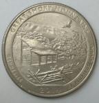 monedas de America - Estados Unidos -  2014 quarter dollar