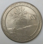 monedas de America - Estados Unidos -  2013 quarter dolar