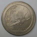 monedas de America - Estados Unidos -  2015 quarter dollar