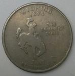 monedas de America - Estados Unidos -  2007 quarter dolar