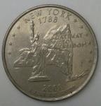 monedas de America - Estados Unidos -  2001 quarter dollar
