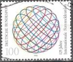 Sellos del Mundo : Europa : Alemania : 125 años de la Unión Internacional de Telecomunicaciones (ITU).