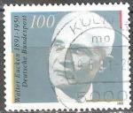 Sellos del Mundo : Europa : Alemania : Cent del nacimiento de Walter Eucken (economista).