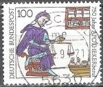 Sellos del Mundo : Europa : Alemania : 750 años de profesión Farmacéuticos (FRG).