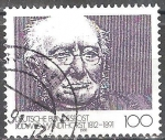 Sellos del Mundo : Europa : Alemania : Centenario de la muerte de Ludwig Windthorst (político).
