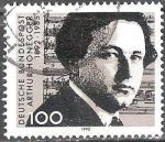 Sellos del Mundo : Europa : Alemania : Cent del nacimiento de Arthur Honegger (compositor).