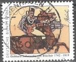 Sellos del Mundo : Europa : Alemania : 250a. Nacimiento Anniv. De Gebhard Leberecht von Blücher.