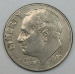 monedas de America - Estados Unidos -  1999 D one dime