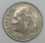 monedas de America - Estados Unidos -  2007 D one dime