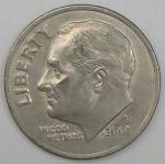 monedas del Mundo : America : Estados_Unidos :  2008 D one dime