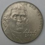 monedas de America - Estados Unidos -  2007 D dice cents