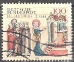 Stamps Europe - Germany -  750 aniversario de la muerte de Hedwig de Silesia (1174-1243).