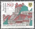 Sellos del Mundo : Europa : Alemania : 1.000 años Quedlinburg.