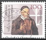 Sellos del Mundo : Europa : Alemania : 150 años Vinzenz Conferencias en Alemania.