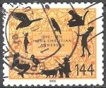 Sellos del Mundo : Europa : Alemania : 200 aniversario del nacimiento de Hans Christian Andersen (poeta).