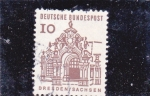 Sellos del Mundo : Europa : Alemania : catedral de Dresden