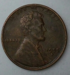 monedas del Mundo : America : Estados_Unidos :  1955 D one cent