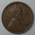 monedas de America - Estados Unidos -  1955 D one cent