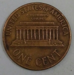 monedas de America - Estados Unidos -  1971 one cent