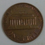 monedas de America - Estados Unidos -  1982 D one cent