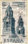 Sellos de Europa - España -  FORJADORES DE AMERICA - Mexico Catedral de Morella