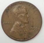 monedas de America - Estados Unidos -  1063 one cent