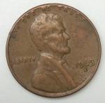 monedas de America - Estados Unidos -  1963 D one cent