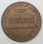 monedas de America - Estados Unidos -  1962 one cent