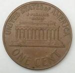 monedas de America - Estados Unidos -  1960 - one cent