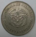 monedas de America - Colombia -  1965 - 5 centimos