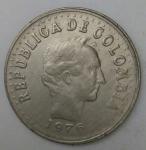 monedas de America - Colombia -  1976 - 20 centavos