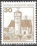 Sellos del Mundo : Europa : Alemania : Fortalezas y castillos.Castillo de Ludwigstein, Valle de Werra.