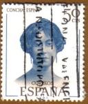 Sellos del Mundo : Europa : España : Literatos Españoles - Concha Espina