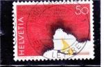 Stamps Switzerland -  prevención de incendios