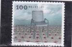 Stamps : Europe : Switzerland :  -silla-artes plasticas
