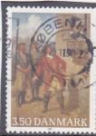 Stamps Denmark -  obra de teatro