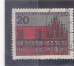 Sellos de Europa - Alemania -  catedral de Hannover